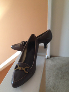 Franco Sarto Brown Shoes-Size 10M.