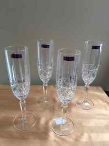 Marquis by Waterford  Brady Flute set of 4 Kitchener / Waterloo Kitchener Area image 2
