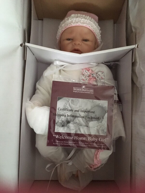 ashton drake welcome home baby girl doll in southampton hampshire