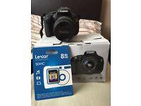 Canon EOS 600D EF-S III w/18-55mm Lens - £250