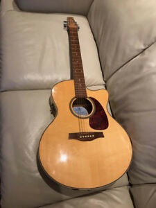 Seagull Performer CW Flame Maple QI with Gig Bag