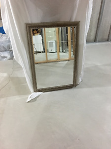 WALL MIRROR WITH ANTIQUE GOLD FINISH FRAME FOR SALE