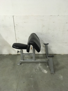 Pre-owned Apex Preacher Curl - strength equipment for sale