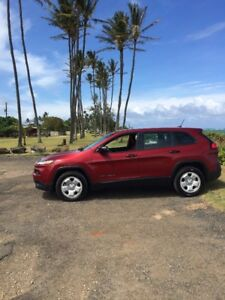 HAWAII-KAUAI-JEEP CHEROKEE FOR RENT