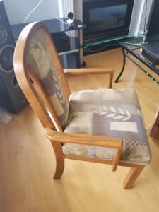 2 Dining Captains Chairs