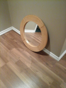Round Hallway/Front Entrance Mirror
