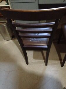 Two Ladder Back Chairs  London Ontario image 4