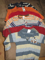 lot of 6 boys size 24months/2T long sleeve shirts