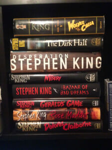 Stephen King Books Hardcover Dust Jacket First Edition