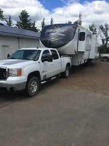 Gorgeous Truck and Trailer Combo Almost New!