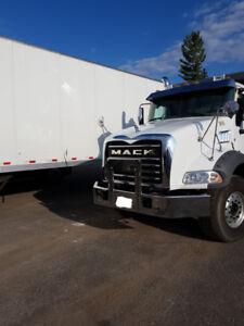 2018 Mack Tri-axle Dump Truck