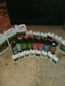 Hydroponic nutrients and grow equipment