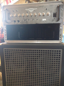 Yorkville Sound xs800 head and xc410 cabinet