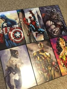 Marvel Paintings Comic Con