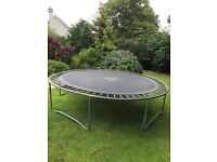 12ft 'tp' trampoline free to a good home