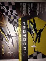 Brand new Protocol Turbohawk RC helicopter