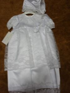 Christening Gown sz 9m NEW