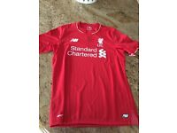 Liverpool Jersey Signed By Jamie Carragher