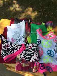 Lot of Girls' sized mostly 7/8 Clothing 9 pieces