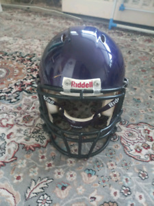 Riddel football helmet youth large