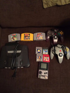 Gameboy color with games, N64 and games St. John's Newfoundland image 1