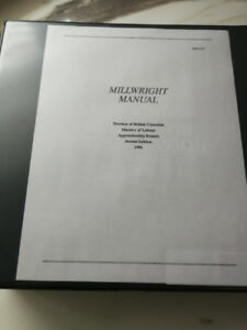Millwright Manual 2end edition Province of British Columbia 1996