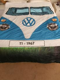 Double size VW sleeping bag.