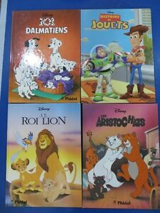 Lot de 4 livres de Walt Disney