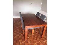 Dakota Mango wood dining table