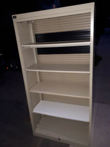 Roll-Top Industrial Deco Cabinet $100 !!