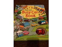 Usbourne Busy Car Book.