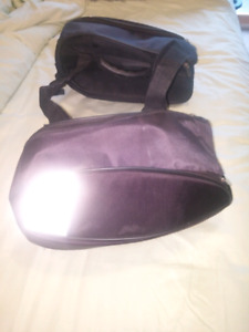 Under seat small saddle bags