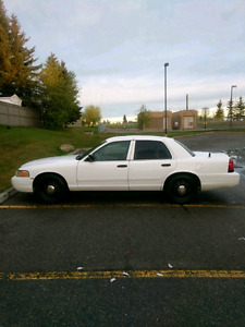 2009 Crown Victoria Cop Car