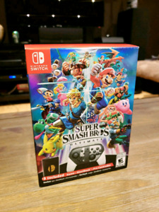 Super Smash Bros. Ultimate Special Edition With Pro Controller