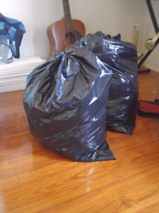 2 bags of clothing