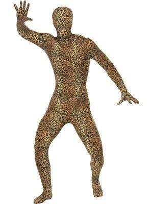 Leopard Second Skin Kostüm Leo Stretchanzug - Leopard Anzug Kostüm