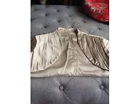 Silk bridal bolero