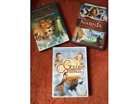 Chronicles of Narnia, Narnia Prince Caspian and The Golden Compass DVDs £3