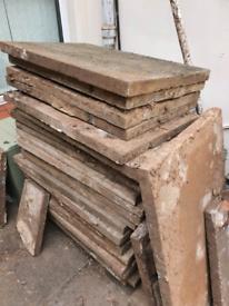 Concrete Paving Slabs. FREE