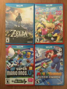 Nintendo Wii U games - Various Prices