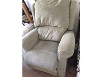Rise & Recline chair Fully working in good condition