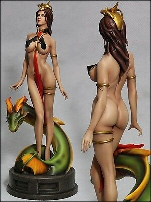 Lady Dragon Statue 356/500 by Yamato Fantasy Figure Gallery SEALED not Sideshow
