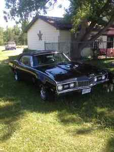 1968 Oldsmobile Cutlass Convertible w/455 3 spd