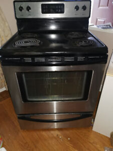 "Stainless Steel 30"" Electric Range - Free Standing"