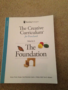 The Creative Cirriculum Vol 1 - The Foundation