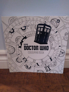 New Doctor Who Colouring Book