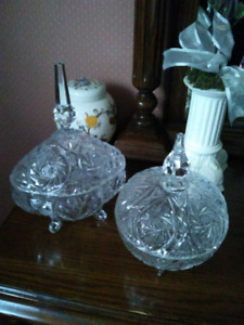 Crystal Candy Bowls