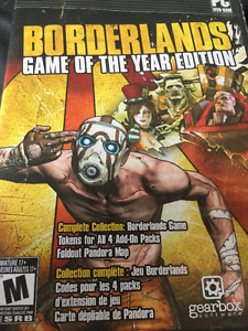 Borderlands 1 Game Of The Years