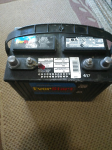 Brand new RV battery
