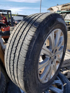 4 PNEUS MICHELIN 195 65 R 15 AVEC MAG (ALL SEASON)
